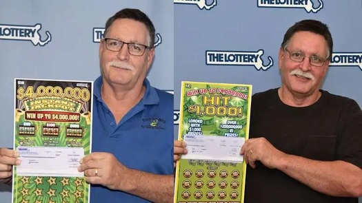 Two-Time Lotto Winner Rolf Rhodes