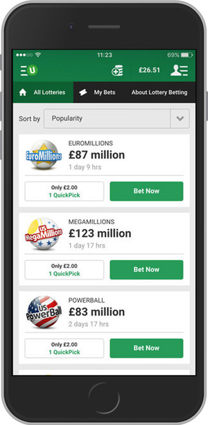 Unibet.com Mobile Website
