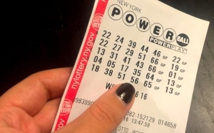 US Powerball Lottery Ticket