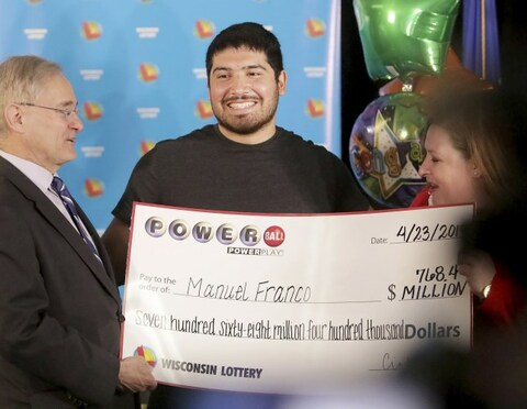 US Powerball Winner Manuel Franco