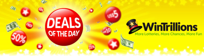 WinTrillions daily deals promo codes